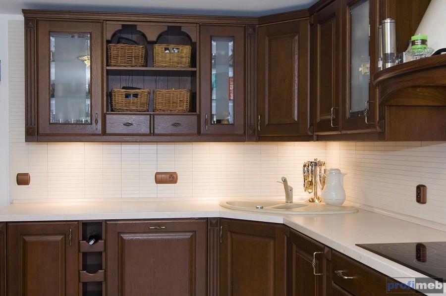 PROFIMEB  Kuchnie klasyczne  Clematis -> Kuchnie Klasyczne Szare